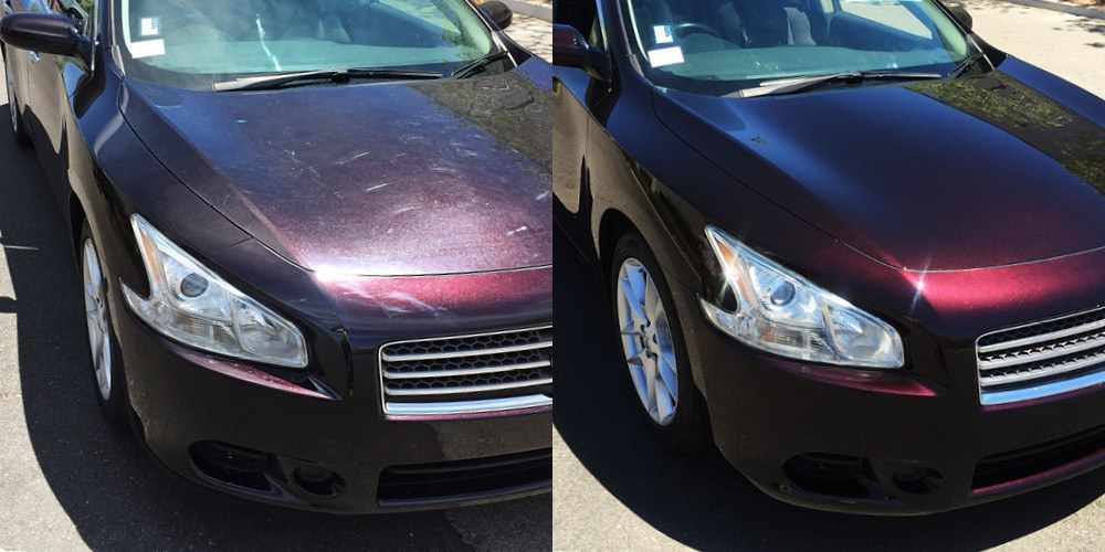 RestorFX Car Surface Restoration Before and After