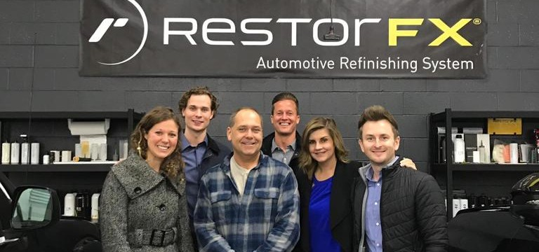 RestorFX Team with Concord Franchisee